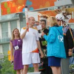 Mississauga Torch Celebration and 41 Tree Ceremony
