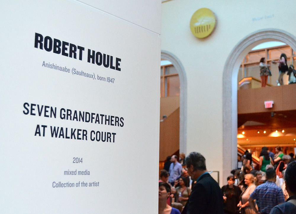 Robert Houle - Seven Grandfathers at Walker Court